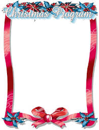 christmas concert program template christmas program cliparts free download clip art free clip