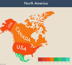 Country Map Usa by Happiest Countries In The World Revealed Daily Mail Online