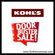 shop kohl s 3 day doorbusters sale