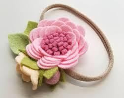 felt flower headband blooms vanaguelite
