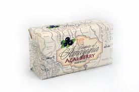 paper wrapped soap amazonia açai paper wrapped soap 300g saponificio varesino