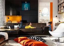 Brown Interior Design by Orange And Black Room Moncler Factory Outlets Com