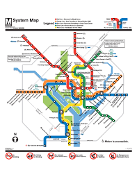 washington subway map official washington dc metro map washington dc mappery