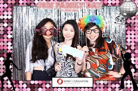 Photobooth Bank Photo Booth Singapore That Balloons