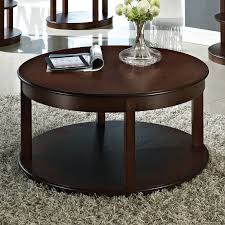 awesome round espresso coffee table 11 for your small home remodel