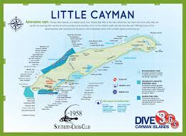 Map Of Cayman Islands Dive Sites Southern Cross Club