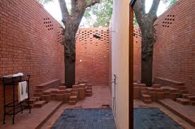 Bathroom Designs For Home India by Rustic Bathroom Design At Brick Kiln House Design In Small Village