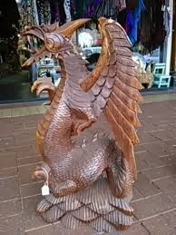 large wood carvings statues