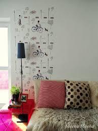 meeha meeha how to make a faux wallpaper