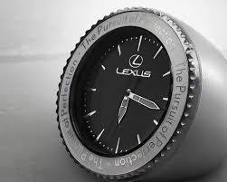 desk clock lexus lexus desk clock
