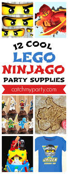 ninjago party supplies 12 cool lego ninjago party supplies catch my party