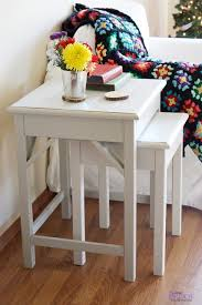 Outdoor End Table Plans Free by Ana White Preston Nesting Side Tables Diy Projects