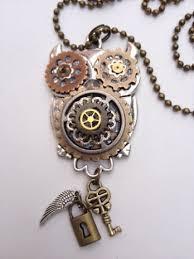 steampunk owl necklace images Steampunk owl islandgirlz designs jpg