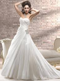 sweetheart wedding dresses a line sweetheart wedding dress with asymmetrical pleating