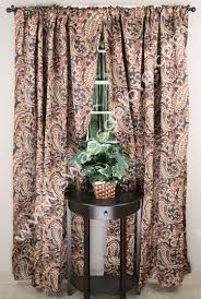 bali printed blackout curtain espresso renaissance view all
