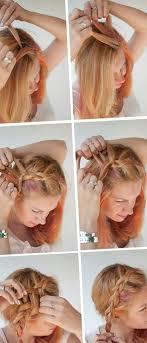 Hochsteckfrisurenen F Schulterlange Haare Zum Selber Machen by Frisuren Fur Schulterlange Haare Zum Selber Machen Trends Ideen