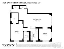 streeteasy 301 east 63rd street in lenox hill 12f sales