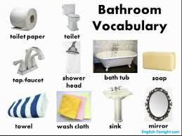 English Bathroom Learn English Bathroom Vocabulary Youtube