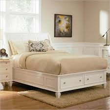 White Leather Sleigh Bed Cheap Leather King Sleigh Bed Find Leather King Sleigh Bed Deals