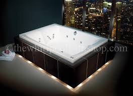 Bathroom Bathroom With Jacuzzi And Large Carron Celsius Duo 26 Jet Whirlpool Bath System