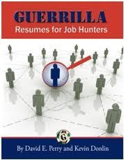 guerrilla job hunting resumes