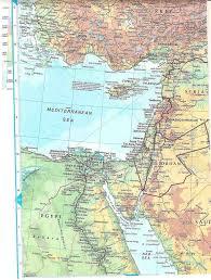 Map Mediterranean Online Maps Eastern Mediterranean Map