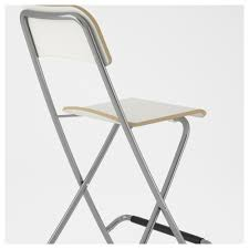 Bernhard Chair To Barstool Ikea by Franklin Bar Stool With Backrest Foldable 29 1 8