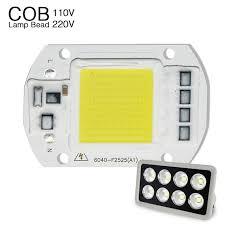 smart outdoor flood light led cob chip flood light l ac220v smd 20w 30w 50w white warm