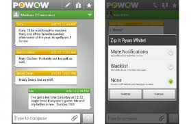 imessage for android powow app aims to be like imessage for android