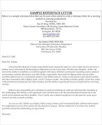 example reference letter for employee sample recommendation