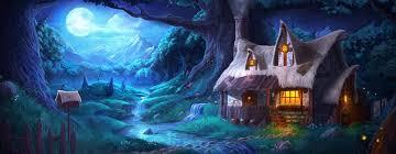 wizard s cabin by artofjokinen on deviantart