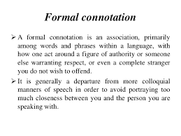 semantics connotation and dennotation