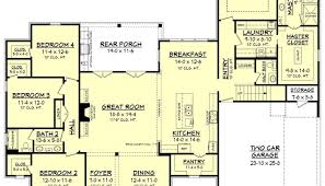 simple four bedroom house plans one floor house plans picture simple four bedroom awesome in