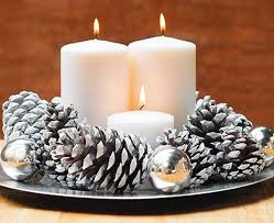 Cheap Christmas Centerpiece - 266 best christmas candles images on pinterest christmas