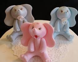 elephant baby shower baby elephant cake topper jungle