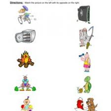 division by 2 worksheetsopposites worksheets kindergarten
