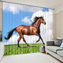 popular horse bedroom curtains buy cheap horse bedroom curtains