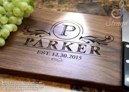 monogramed cutting boards best 25 personalized cutting board ideas on creative