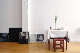 my 1400sqft photographer sasha maslov embraces diy design in his sasha maslov brooklyn navy yard loft studio table