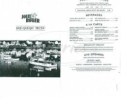 jolly roger restaurant menu dana point dineries