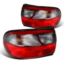 chevy malibu tail lights chevy malibu 1997 2003 custom tail lights red and smoked