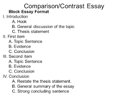 example thesis essay sample thesis statement for compare and contrast essay good topics for a research paper