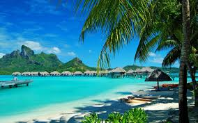 Where Is Bora Bora Located On The World Map by View From The Four Seasons Resort Beach