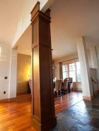 Interior Columns Design Ideas Moulding On Columns Building A House Pinterest Ceiling Trim