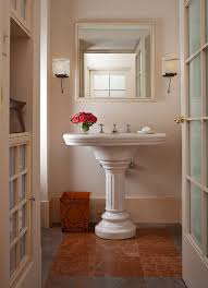 Create A Smashing Powder Room Traditional Home - Powder room bathroom