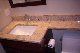 Bathroom Vanity Granite Countertop Built In Sink In Granite Granite Countertop With Undermount Sink