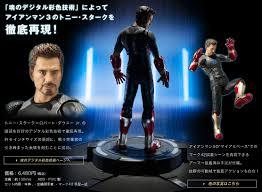 Tony Stark Sh Figuarts Iron Man 3 Tony Stark Figure The Toyark News