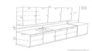 Standard Kitchen Cabinet Dimensions Amusing 60 Kitchen Cabinet Dimensions Design Decoration Of