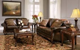 brown living room furniture brown living room furniture sets anondale brown button tuft