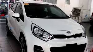 kia hatchback kia rio hatchback review clear white youtube